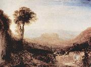 Ansicht von Orvieto William Turner