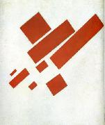 Suprematism. Two-Dimensional Self-Portrait Kazimir Malevich