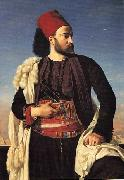 Portrait of Leconte de Floris in an Egyptian Army Uniform Leon Benouville