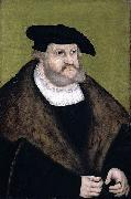 Portrait of Elector Frederick the Wise in his Old Age Lucas Cranach