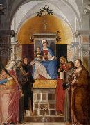 Madonna with child and saints. Marcello Fogolino