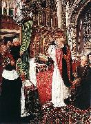 The Mass of St Gilles Master of Saint Giles