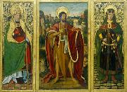 Saint John the Baptist; Saint Fabian and Saint Sebastian Miguel Ximenez