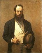 Self-portrait Otto Scholderer