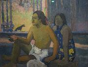 Eiaha Ohipa Tahitians in A Room Paul Gauguin