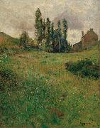 Dogs Running in a Meadow Paul Gauguin