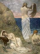 Young Girls on the Edge of the Sea Pierre Puvis de Chavannes