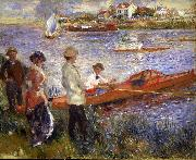 Rowers at Chatou renoir