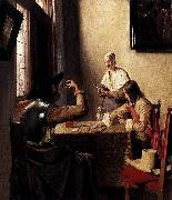 Soldiers Playing Cards Pieter de Hooch