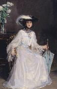 Evelyn Farquhar, wife of Captain Francis Douglas Farquhar daughter of the John Hely-Hutchinson, 5th Earl of Donoughmore John Lavery