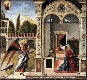 The Annunciation Vittore Carpaccio