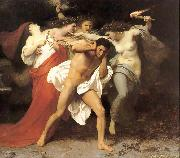 The Remorse of Orestes or Orestes Pursued by the Furies William-Adolphe Bouguereau