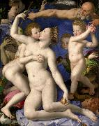 Venus Cupid Folly and Time Agnolo Bronzino