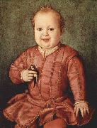 Portrait of Giovanni de Medici as a Child Agnolo Bronzino