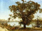 A View From Sacramento Albert Bierstadt