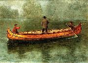 Fishing_from_a_Canoe Albert Bierstadt