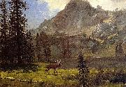 Albert Bierstadt Call Of The Wild Albert Bierstadt