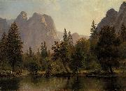 Cathedral Rocks, Yosemite Valley Albert Bierstadt