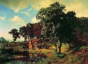 A Rustic Mill (Farm Albert Bierstadt