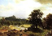 Day-s_Beginning Albert Bierstadt