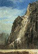 Cathedral Rocks, A Yosemite View Albert Bierstadt