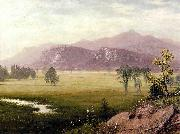 Albert Bierstadt Conway Meadows New Hampshire Albert Bierstadt