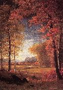Autumn in America, Oneida County, New York Albert Bierstadt
