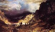 A Storm in the Rocky Mountains, Mr. Rosalie Albert Bierstadt