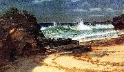 Beach at Nassau Albert Bierstadt