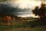 Autumn Landscape: The Catskills Albert Bierstadt