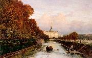 View to Michael's Castle in Petersburg from Lebiazhy Canal Alexey Bogolyubov