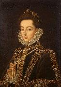 Portrait of the Infanta Catalina Micaela Alonso Sanchez Coello