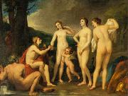 The Judgment of Paris, painting by Anton Raphael Mengs, now in the Eremitage, St. Petersburg Anton Raphael Mengs