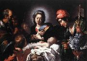 The Adoration of the Shepherds Bernardo Strozzi