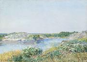 The Little Pond Appledore Childe Hassam