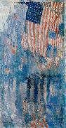 The Avenue in the Rain Childe Hassam