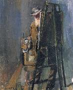 Selfportrait of Christian Krohg Christian Krohg