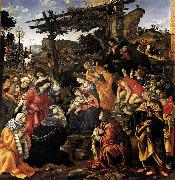 Adoration of the Magi Filippino Lippi