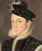 Portrait of King Charles IX of France Francois Clouet