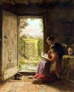 The Reading Lesson George Hardy