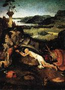 Jerome at Prayer Hieronymus Bosch
