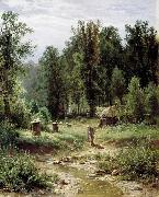 Apiary in a Forest Ivan Shishkin