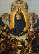 The Coronation of the Virgin Jan provoost