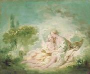 Jupiter and Callisto Jean-Honore Fragonard