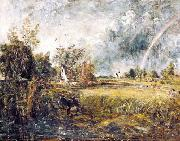 Cottage at East Bergholt John Constable