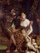 Mars and Venus with Cupid and a Dog Paolo Veronese