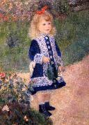 A Girl with a Watering Can renoir