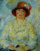 Portrait of Madame Renoir renoir
