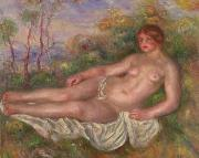 Renoir Reclining Woman Bather renoir