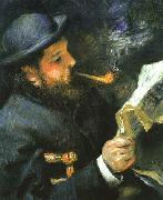Portrait Claude Monet renoir